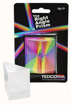 Right Angle Prism Acrylic Rainbow Science