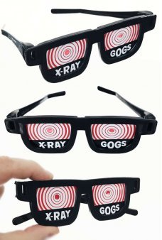 X-Ray Glasses Illusion Retro Illusion Joke