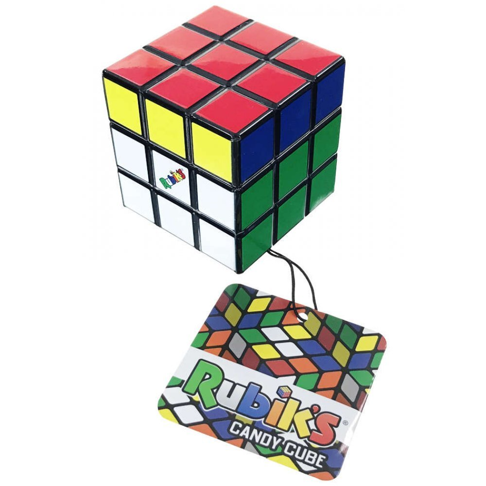 tetris cube tin with candy inside classic puzzle toy 1974
