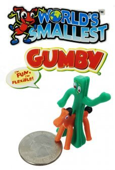 Gumby and Pokey Worlds Smallest Bendable