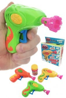 Retro Bubble Gun Friction Power Blower Set