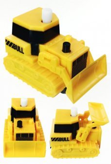 Yellow Bulldozer No Fall Wind Up Cliffhangers