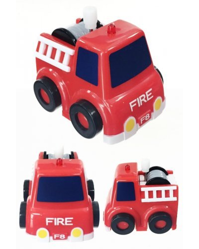 Red Fire Engine No Fall Wind Up Cliffhangers