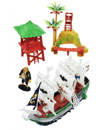 Pirates Adventure Large Play 4 Pieces Set