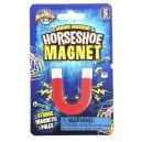 Classic Horseshoe Magnet Metal Poles N S