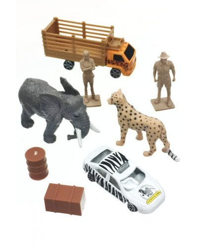Wildlife Safari Discovery Playset 8 Pieces