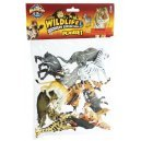 Africa Safari Wild Animals Playset 12 Pieces