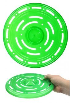 Space Age Flying Saucer Disc Bright Green