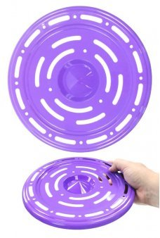 Flying Saucer Space Age Disc Purple