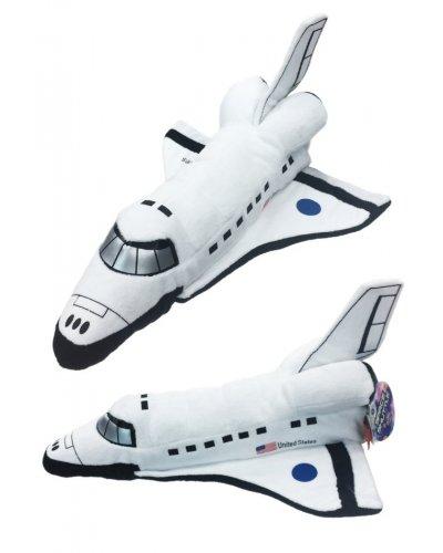 Space Shuttle Plush White Soft 14 inch USA