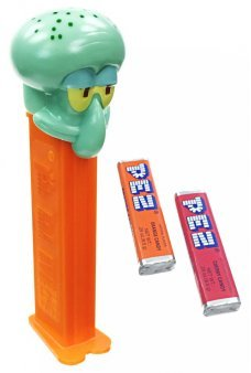 Squidward PEZ Candy Octopus SpongeBob
