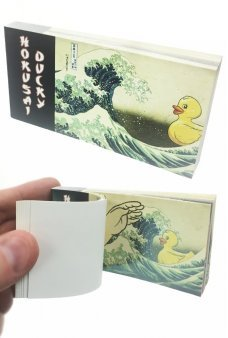 Hokusai Ducky Animated Flip Book Japanese