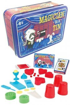 Magic Set Magician in a Tin 25 Easy Tricks