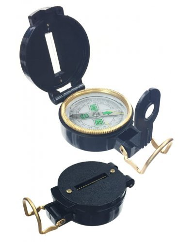 Folding Lensatic Compass Explorer Toy