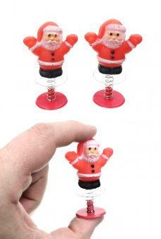 Santa Pair of Poppers Stocking Stuffer Set