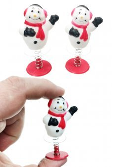 Snowmen Pair of Poppers Stocking Stuffers