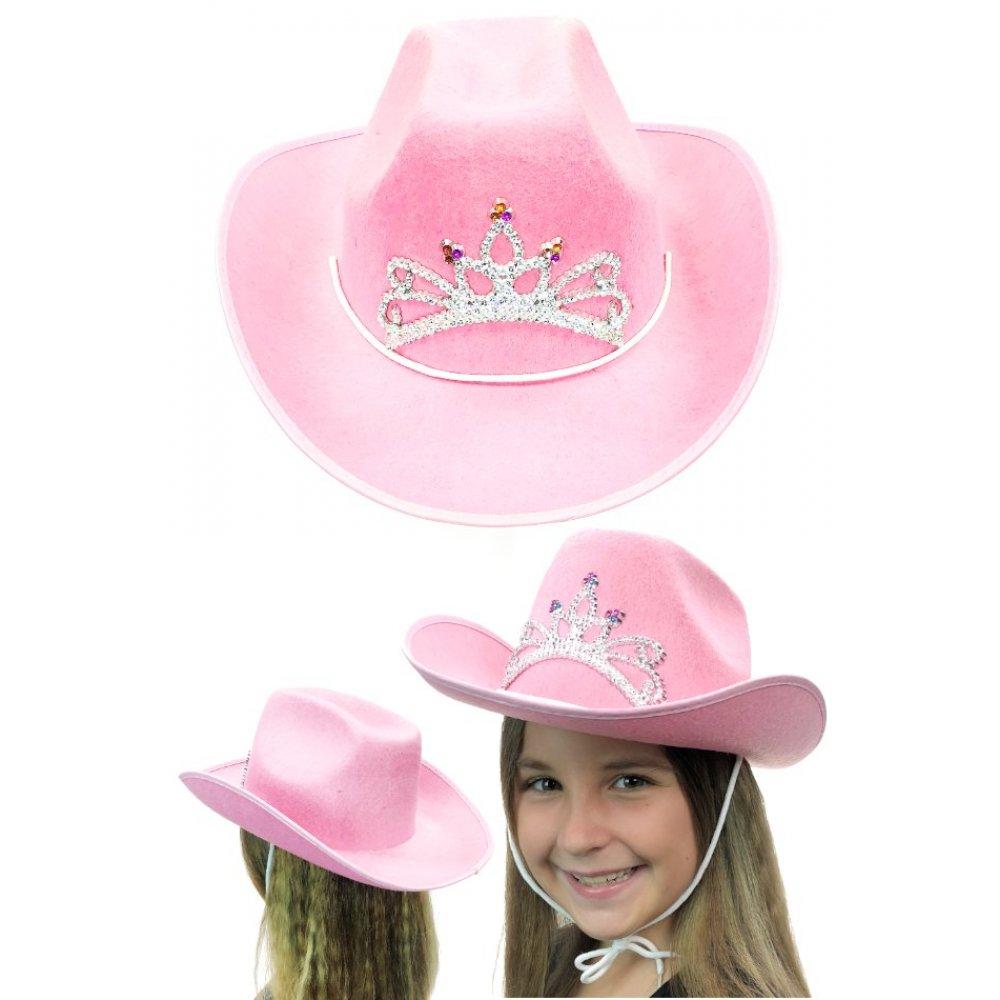efc921193fa9e Cowgirl Hat   Pink Jewels   Western Cowboy   Child Size