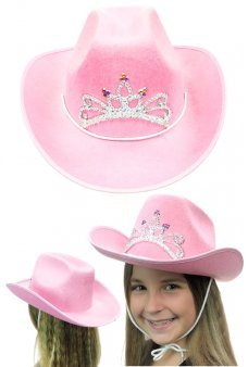 Pink Cowgirl Cowboy Hat Child Size