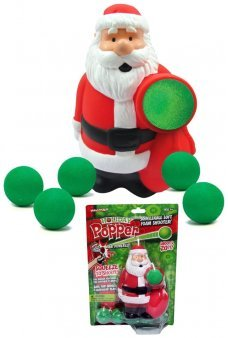Santa Popper Soft Shooter Christmas Toy