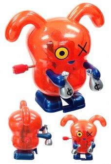 Ox Red Wind Up Walks UglyDoll Money Bags