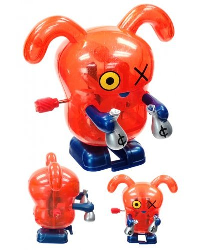 Ox Red Wind Up Walks UglyDoll Money Bags