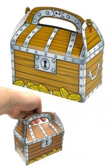 Pirate Chest Gift Set of 12 Treasure Boxes