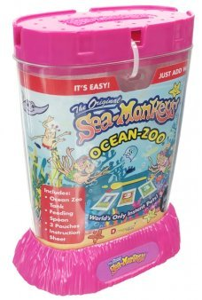 The Original Sea Monkeys Ocean Zoo Pink