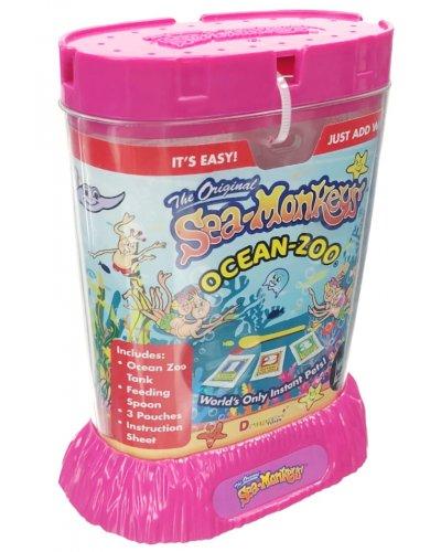 Sea Monkeys The Original Ocean Zoo Pink
