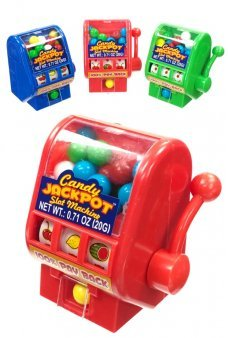 Candy Jackpot Slot Machine Action Toy
