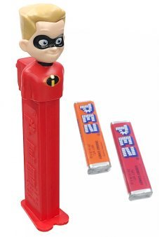 Incredibles Dash PEZ Dispenser Fast Brother
