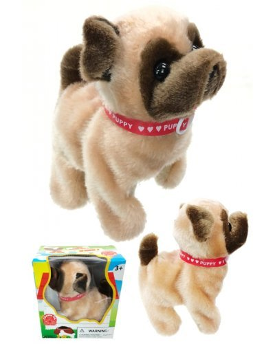 Baby Pug Puppy Soft Animated Walks Barks