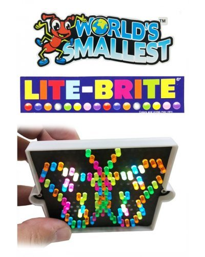 Worlds Smallest Lite Brite It Works