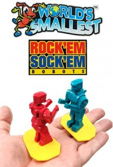 Rock'em Sock'em Robots Worlds Smallest