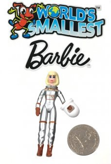 Barbie Astronaut World's Smallest 1965 Doll
