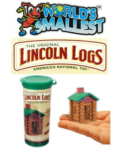 Lincoln Logs Building Toy World's Smallest