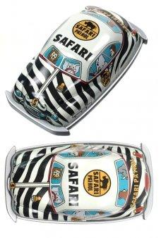 Safari Patrol Magnet Mini Tin Toy Car