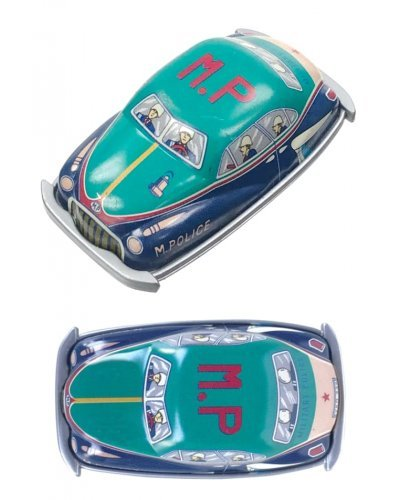 Military Police Magnet Mini Tin Toy Car