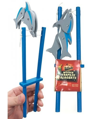 Flipping Dolphin Wooden Acrobatic Toy