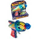 Atomic Space Blaster Raygun Regal Tin Toy