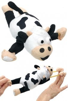 Flying Cow Moo Screaming Slingshot Flingshot