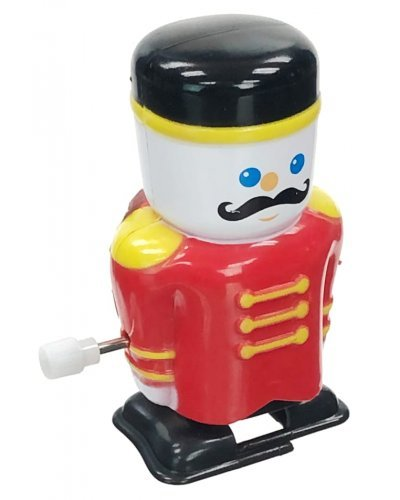 Christmas Soldier Captain Chester Windup Toy