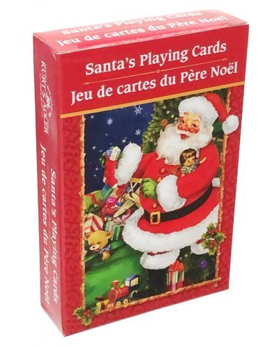 Santa's Playing Cards Vintage Christmas Games