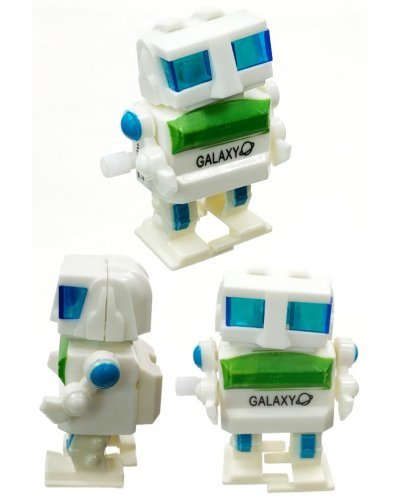 Gary Galaxy Box Head Windup Robot Plastic