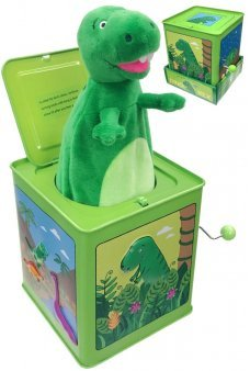 Dinosaur Jack in the Box Little Rex the Green Dino