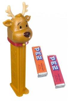 Santas Reindeer PEZ Candy Dispenser
