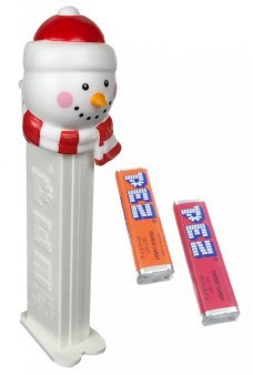 Christmas Snowman PEZ Candy Dispenser