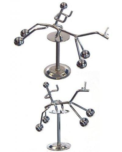 Rocking Horse Balancing Silver Mini