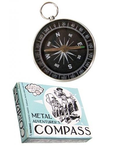 Metal Compass Adventurer Tin Toy