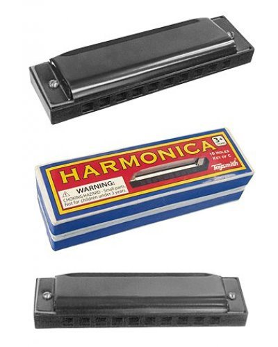 Harmonica Black Metal Cowboy Music