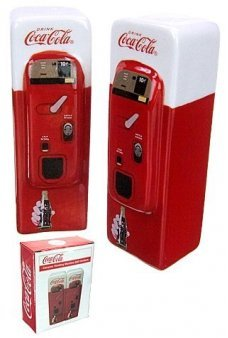 Coke Machine Salt Pepper Shakers